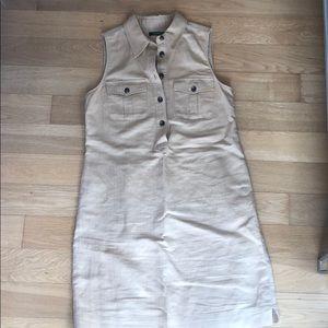 LAUREN Ralph Lauren summer khaki dress